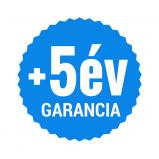 +5 év garancia