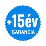 +15 év garancia